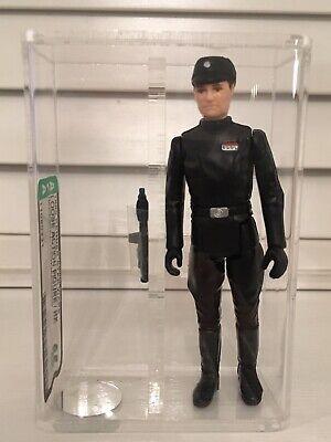 Vintage Star Wars Figure Imperial Commander Graded AFA 85 Near Mint+..