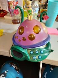 Disney Tinker Bell and the Lost Fairies Nightlight Radio Alarm Clock AM/FM