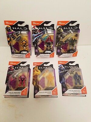 New Fall 2017 Set Of 6 Mega Bloks Construx Halo Heroes Series 6 Hero