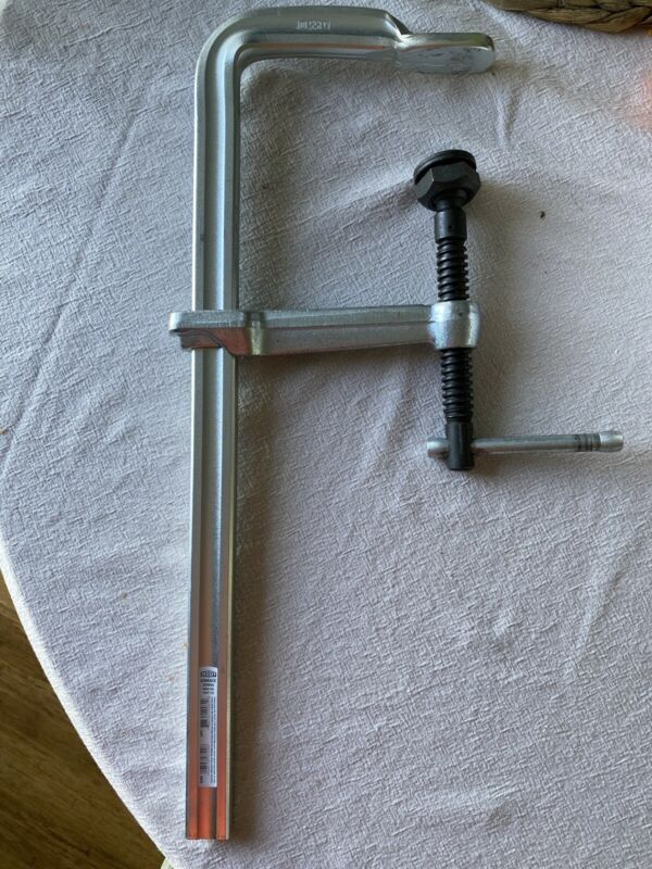 "BESSEY GSM40 16"" Bar Clamp Steel Handle and 5-1/2"" Throat Depth"