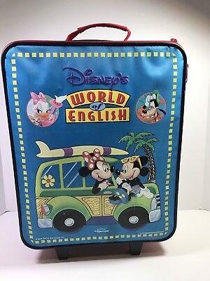 Disney's World of English Learning English System Toy Used Educational