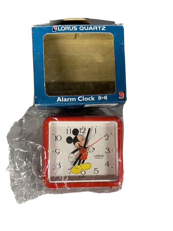 Lorus Mickey mouse alarm clock brand new Vintage