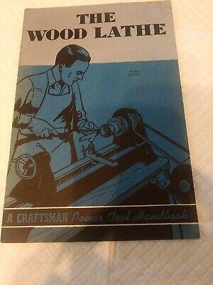 1942 Craftsman 1942 The Wood Lathe Instructions