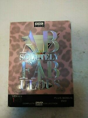 Absolutely Fabulous - The Complete Collection: Series 1-3 (DVD, 2001, 4-Disc Se…