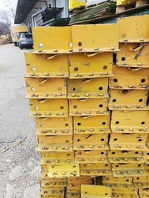 Pallet Rack Racking Shelving Racks Warehouse Teardrop Used Beams 96 Rails