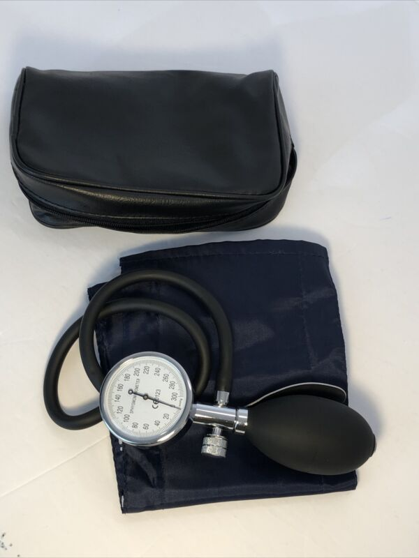 Medline One Hand Sphygmomanometer Blood Pressure Monitor- Used, Working Cond