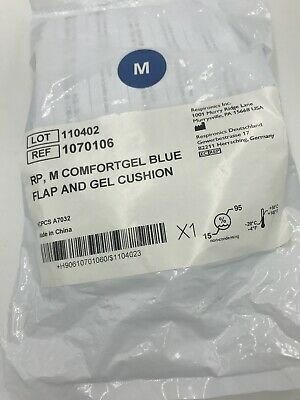 Respironics M ComfortGel Blue Flap and Gel Cushion for Comfort CPAP Nasal Mask Gel Cpap Mask
