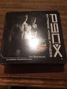 P90 x home fitness DVD's
