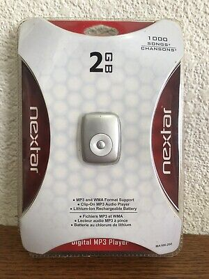 Nextar Digital Mp3 Player 2gb Brand New Sealed