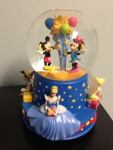 Disney Musical Snow Globe