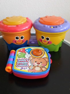 Fisher price drums plus
