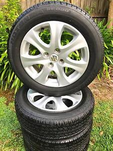 "Suzuki Swift 15"" Alloy Rims & Tyres Croydon Maroondah Area Preview"