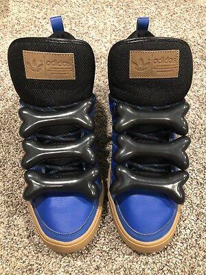 "new style a8a58 13e94 Adidas Jeremy Scott ""Steve Aoki"" Bones, Size 9.5, Rare!"