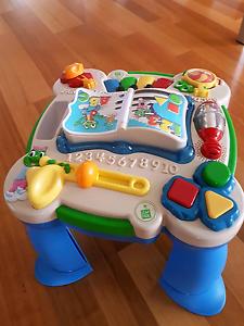 Leap Frog Activity Table & Playskool Walker Everton Hills Brisbane North West Preview