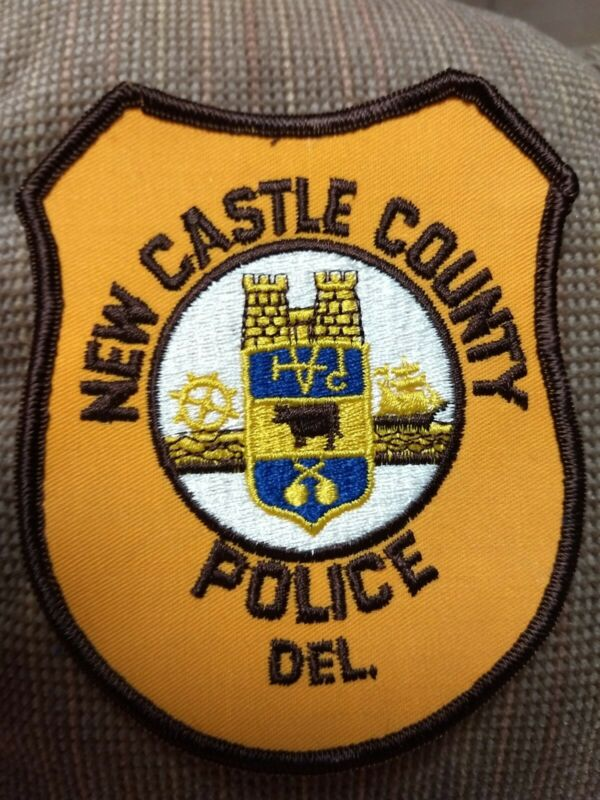 New Castle County Delaware Police Patch - New