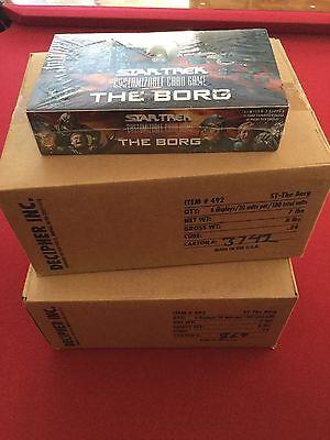 STAR TREK CCG The Borg Sealed Booster Box 30 Packs