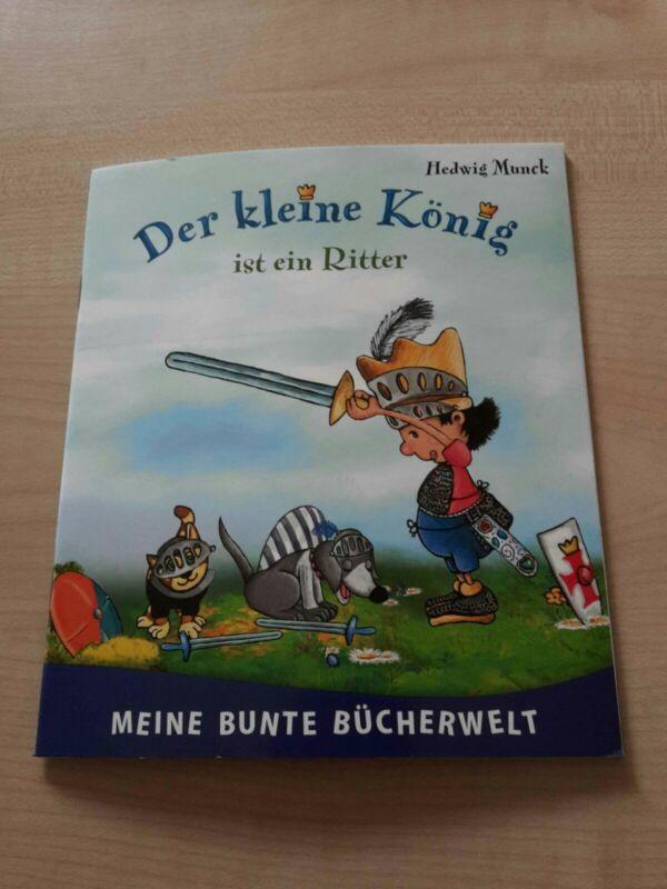"""Kinder Buch """" Der kleine König ist ein Ritter """"  NEU"""