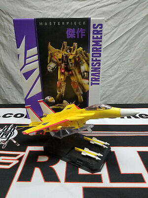 Transformers Masterpiece Sunstorm Complete w/ Box TrU Exclusive MP-05 F-15 Jet