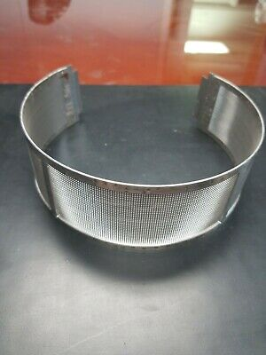 Fitzmill Hammer Mill Screen 1522-0033 Perforated Round Mesh