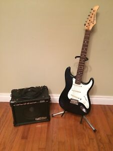 Guitar and amp $125 Ono