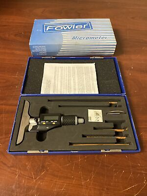 Fowler Depth Micrometer Ip54 C-x