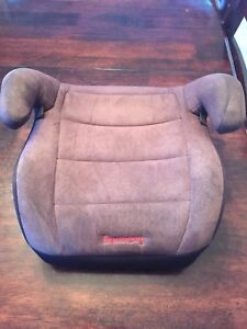 Kids booster seat black. Mint condition