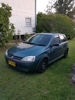 2001 Holden Barina XC long rego