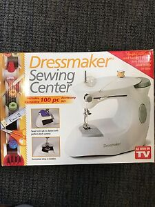 Dressmaker mini sewing machine and sewing kit