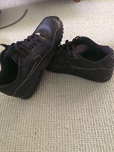 Nike air max 90 black leather
