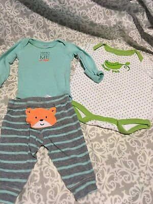 Baby Clothes Lot 191- Sweet PEa one pc, Mommy loves me outfit - Newborn  ()