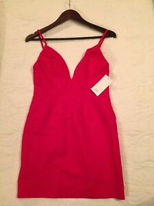 Red Tobi Bodycon Dress