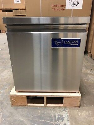 New Coolfront Single One 1 Door Undercounter Stainless Freezer 6.25 Cu.
