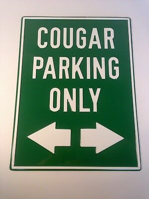 MERCURY COUGAR Parking Only Towed Man Cave Novelty Garage Aluminum Sign