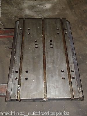 34 X 24 X 3.25 Steel Welding T-slotted Table Cast Iron Layout Plate T-slot