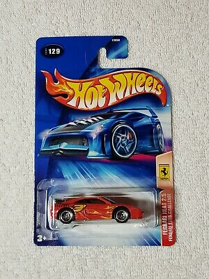2004 HOT WHEELS #129 FERRARI HEAT FERRARI 355 CHALLENGE