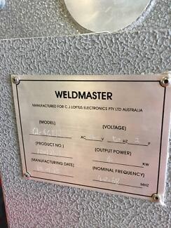 Weldmaster 4KW HF Vinyl Welder for sale!