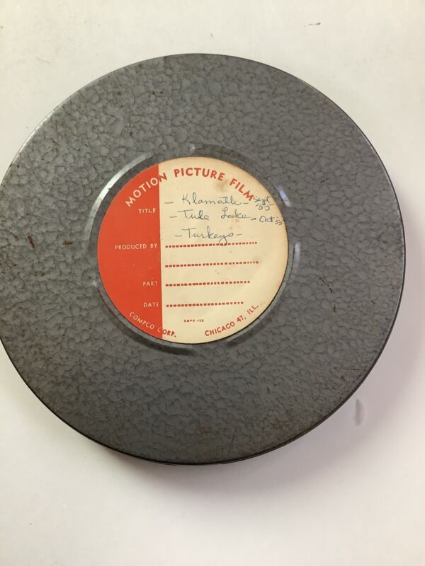 Vintage 16mm Home Movie Klamath, Trees Of Mystery & More