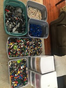 Massive Lego Collection 300+ lbs with 400+ minifigures