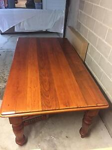 8-seater timber dining room table Auchenflower Brisbane North West Preview