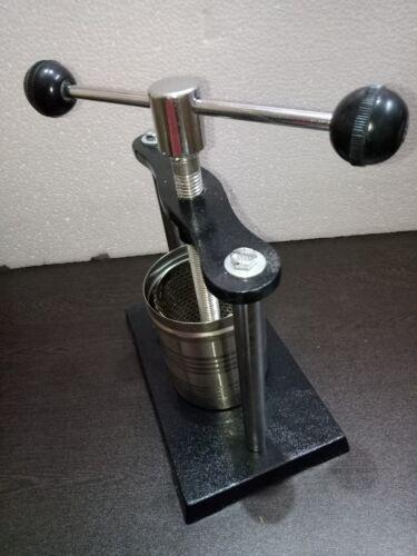 Tincture Press  Analytical Lab Equipment