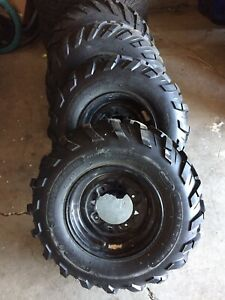 ATV tires  (take offs)
