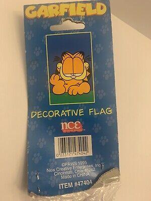 "Decorative House Flag, NCE Impressions, Garfield, 28""x44"". Nylon"