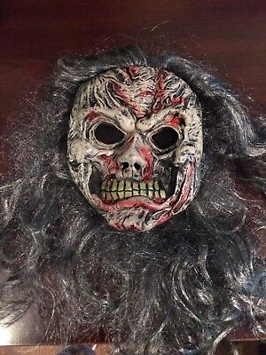 *WOW* Scary Monster Mask w/Hair - Perfect for Pre-Teen/Teen Halloween (Scary Monsters For Halloween)
