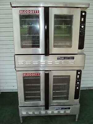 Blodgett Dfg 100 Dual Flow Gas Double Bakery Oven Bakery Pizza