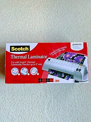 Scotch Thermal Laminator Tl901 New Nos