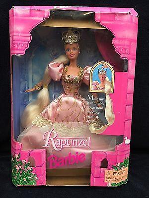 1997 Rapunzel Barbie Doll Mattel 17646