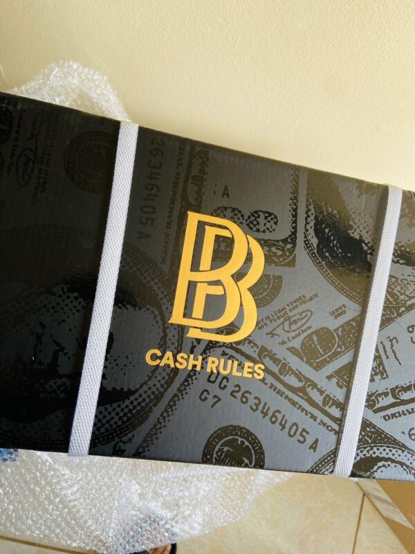 Ben Baller NTWRK Gold Money Counter IN HAND READY TO SHIP