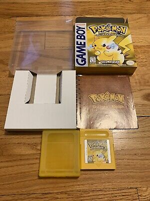 Pokemon: Yellow - Special Pikachu Edition (Nintendo Game Boy, 1999) Auth Saves