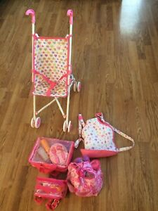 Dolly stroller and accessories