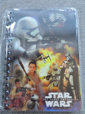 Disney Star Wars - The Force Awakens -  A5 notebook - new and wrapped